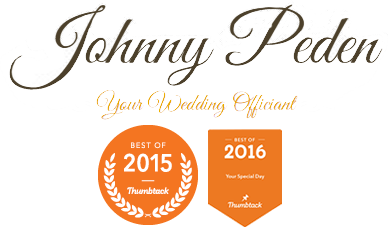Johnny Peden – Wedding Officiant