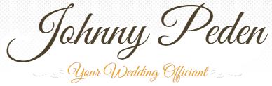Johnny Peden – Wedding Officiant